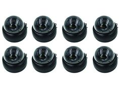 Linear D4 Series Indoor Color Security Dome Camera - 8 Pack