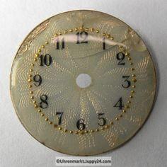 4 St. Emaille Zifferblätter für Taschenuhren, Zifferblatt, pocket Coins, Personalized Items, Watches, Enamel, Coining, Rooms, Wristwatches, Clocks