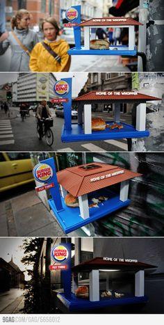 Burger King Guerrilla Marketing #adv