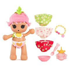 "Lalaloopsy Babies Diaper Surprise™ - Blossom Flowerpot™ - MGA Entertainment - Toys ""R"" Us"