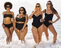 Plus Size Sports Illustrated Photo - Robyn Lawley Gabi Gregg Swimsuits - Cosmopolitan