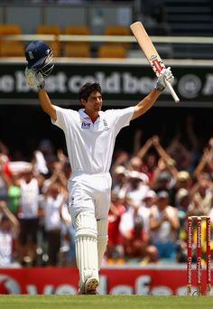 Alastair Cook reaches his first Test double hundred, Australia v England, 1st Test, Brisbane, 5th day, November 29, 2010