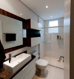 Projeto arquitetônico de interiores para residência unifamiliar. – (Fotos: Lio Simas) : Banheiros ecléticos por ArchDesign STUDIO
