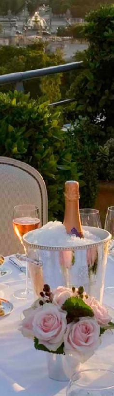 If I could drink only one wine with one person, it would be Champagne with you!