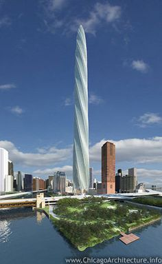"""So, we call """"Cloud Gate"""" """"The Bean."""" What do you think we would end up call the Chicago Spire?"""
