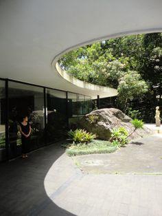 Casa Canoas U2013 Oscar Neimeyeru0027s Home Near Rio De Janeiro, Brasil