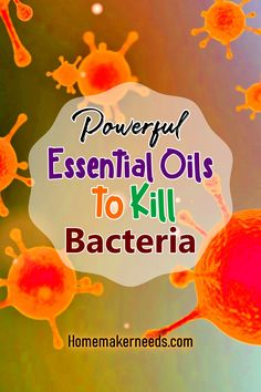 Powerful essential oils to kill bacteria. Essential oils recipes that kill bacteria, disinfect and prevent them in a natural way. Essential oils that are good for cleaning products and can be used as… Essential Oil For Cuts, Essential Oils Room Spray, Essential Oils Guide, Essential Oils Cleaning, Doterra Essential Oils, Natural Essential Oils, Essential Oil Diffuser, Essential Oil Blends, Young Living Oils
