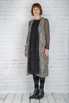 #TM Collection #Dress JGP Arminho TM15517 (Taupe Back)  #fashion #walkers #winter #season