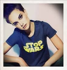 Natalie Portman  Also, loving this shirt.