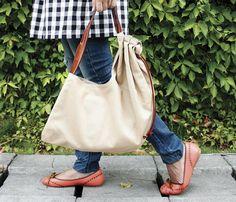 Canvas Saddle Bag