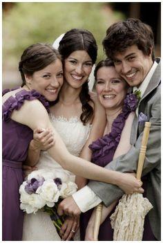 Purple wedding inspiration, Caroline Ross Photoraphy, via Aphrodite's Wedding Blog