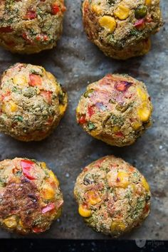 A simple recipe: just stir and bake, and delicious meatballs pop in . Vegan Recipes Easy, Vegetable Recipes, Vegetarian Recipes, Vegan Foods, Vegan Dishes, Tasty Meatballs, Good Food, Yummy Food, Best Appetizers