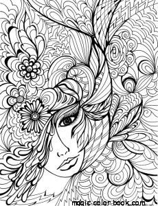 Girls coloring pages online free flowers cool