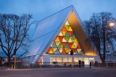Christchurch's Transitional Cathedral, designed by renowned Japanese architect Shigeru Ban  Read more: http://www.indesignlive.com/articles/projects/christchurchs-cardboard-house-of-god#ixzz2iNPBLI8E