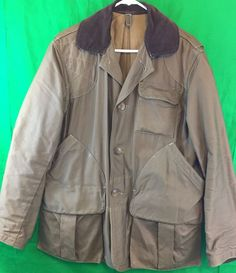 Vintage Men's Hunting Jacket American Field Large Hettrick Game Pouch   Sporting Goods, Hunting, Clothing, Shoes & Accessories   eBay!