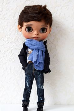 Excited to share the latest addition to my #etsy shop: Custom Blythe doll OOAK TBL boy Blythe Dolls For Sale, Philtrum, Beautiful Dolls, Art Dolls, Hipster, Carving, Etsy Shop, Boys, Cute Dolls