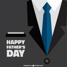 スーツの背景と幸せ父親の日