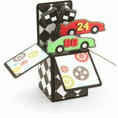 Silhouette Design Store: race car box card