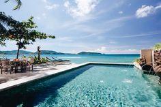Phuket Holiday ViIla #phuket #thailand #asianluxuryvillas _____________________ The villa is one Phukets rare direct beach front villas enjoying sunsets and proximity to Phukets most sought after hot spots