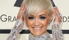 Rita Ora  inspired look for the evening of the Grammy 2015