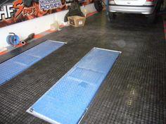 Typ SPOT-Tec Werkstattboden mit Noppen