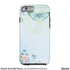 Elegant Butterfly iPhone 6/6s, Tough Tough iPhone 6 Case