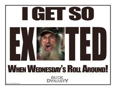 I get so excited when Wednesday's roll around Jack!!!