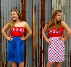 Texas Rangers Game Day Tee Shirt Dresses $55 https://www.facebook.com/Loveshuffle.Tees53?ref=hl