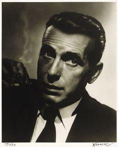 George Hurrell - Humphrey Bogart (1937)