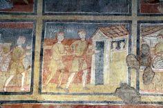 Santa Maria Antiqua, Roma, gli affreschi. 757-767