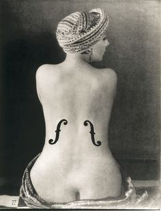Man Ray - Le Violon d'Ingres, 1924