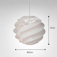 レクリント・Swirl 3 small ホワイト | LE KLINT | インテリア照明の通販 照明のライティングファクトリー