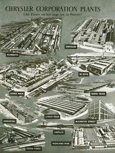 MotorCities National Heritage Area - Story of the Week Detroit Cars, Detroit Motors, Flint Michigan, Detroit Michigan, Miss The Old Days, Detroit History, Model Train Layouts, Model Trains, Plymouth