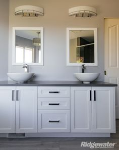 Quality Built www.ridgewater.ca Double Vanity, Bathroom, Washroom, Bathrooms, Bath, Bathing, Bath Tub