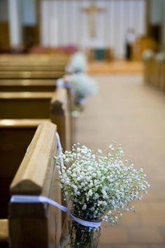 Decoração de Casamento Igreja: Simples e econômica! - Em Breve Casadinhos