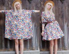 простая выкройка платья: