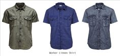 #LINNEN SHIRTS are a must for the hot #SUMMER days... Both trendy and refreshing! #Men
