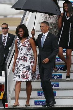Whether jetting on a historic trip to Cuba with the president or attending fundraisers, Michelle Obama's style game never disappoints. See the best looks from the first lady now: