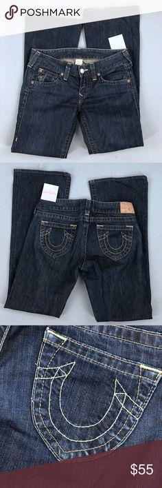 True Religion Bobby Boot Cut Jeans Size 30 #fashion #shopping #style #TrueReligion #Denim