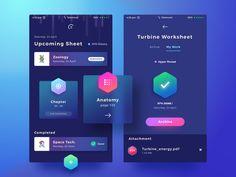 Worksheet App Dark