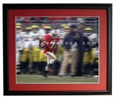 "16""x20"" Professionally Framed and Double Matted ONLY $75 at www.BuckeyeHeroes.com"