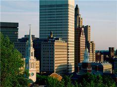 Downtown Providence - Rhode Island  #VisitRhodeIsland