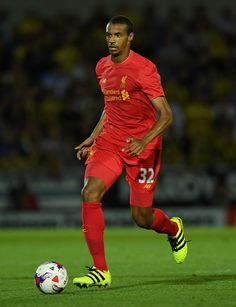 Joel Matip of Liverpool during the EFL Cup match between Burton Albion and…