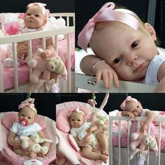 Chloe by Anne Timmerman -City of Reborn Angels Supplier of Reborn Doll Kits and Supplies