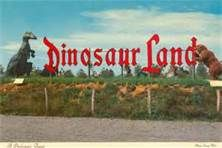 1964 worlds fair images Dino land