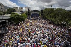'We're Hungry': Thousands Protest in Venezuela's 'Toma de Caracas'