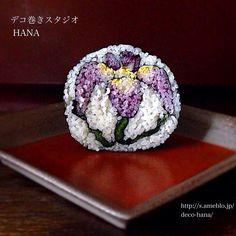 『菖蒲』の飾り巻き寿司