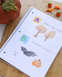 Activities: Write a Seasonal Alphabet Poem (Can use cut out magazine pictures too)