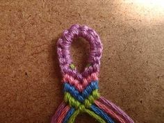 For my daughter...all of those years making the friendship bracelets, this would have been helpful!!!