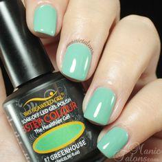 Bio Seaweed Gel Greenhouse Soak Off Gel, Seaweed, Gel Polish, Gel Nails, Swatch, Colour, Garden, Collection, Vintage